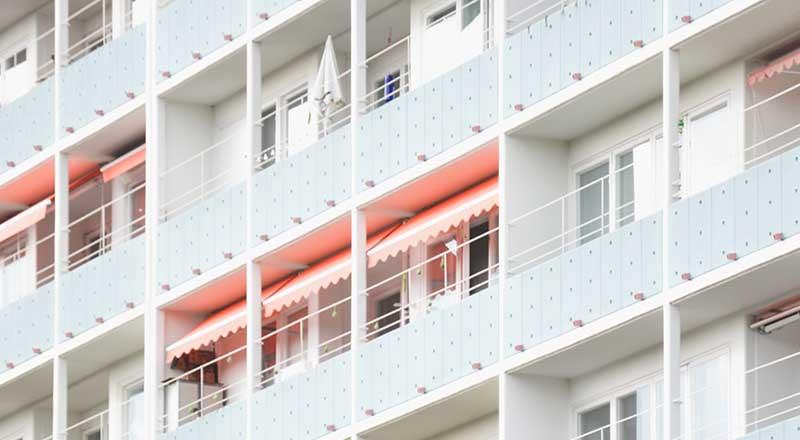 コンクリートマンションに住んだ感想 マンションは暑い!